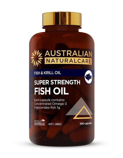 Super Strength Fish Oil 100 Caps