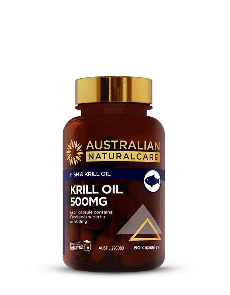 Krill Oil 500mg 60 Caps