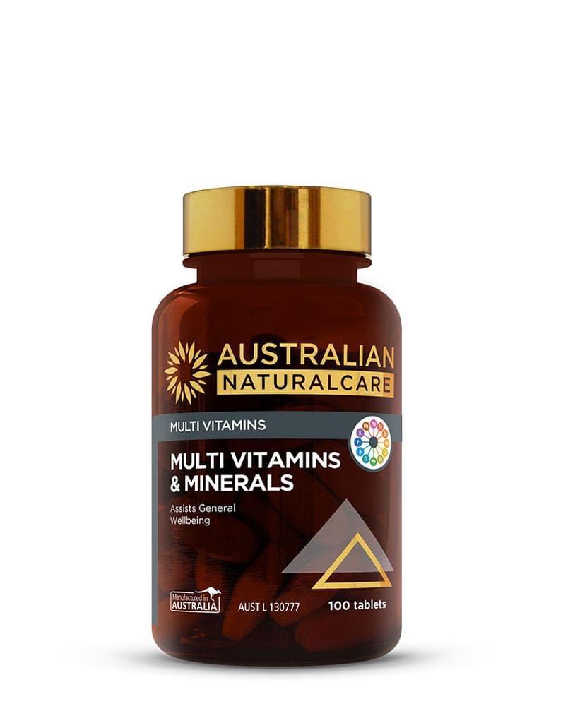 Multi Vitamins & Minerals 100 Tabs