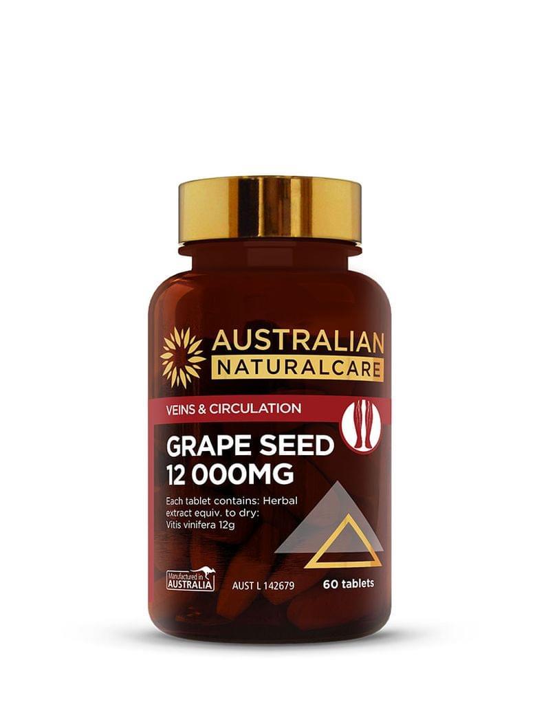 Grape Seed 12 000mg 60 Tabs