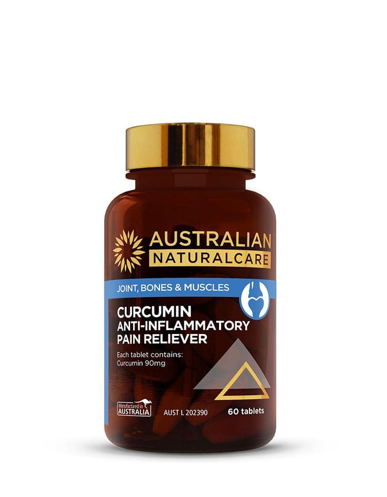Curcumin Anti-Inflammatory Pain Reliever 60 Tabs