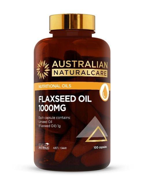 Flaxseed Oil 1000mg 100 Caps