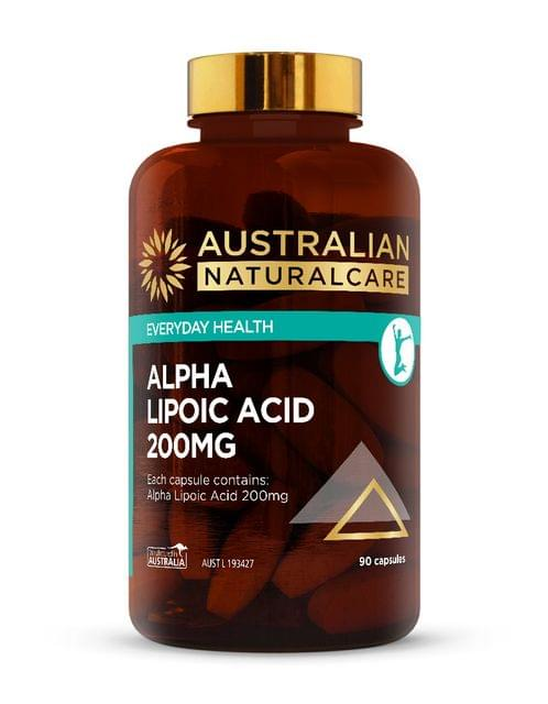 Alpha Lipoic Acid 200mg 90 Caps