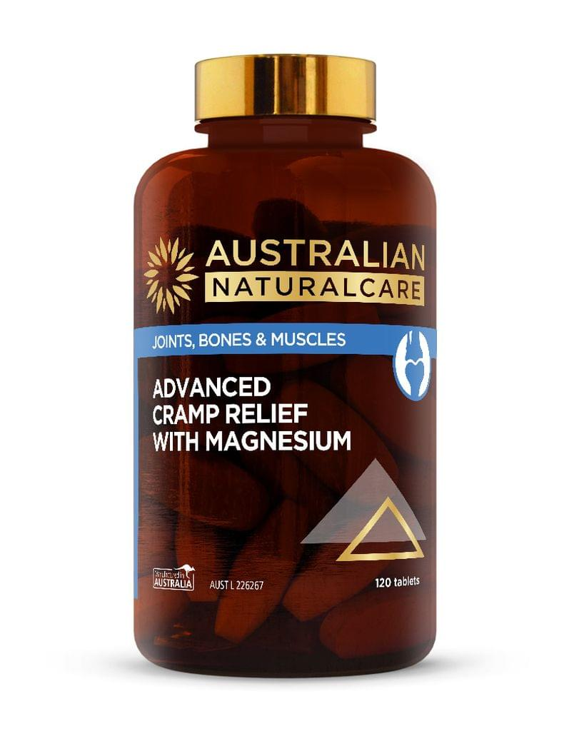 Advanced Cramp Relief with Magnesium 120 Tabs