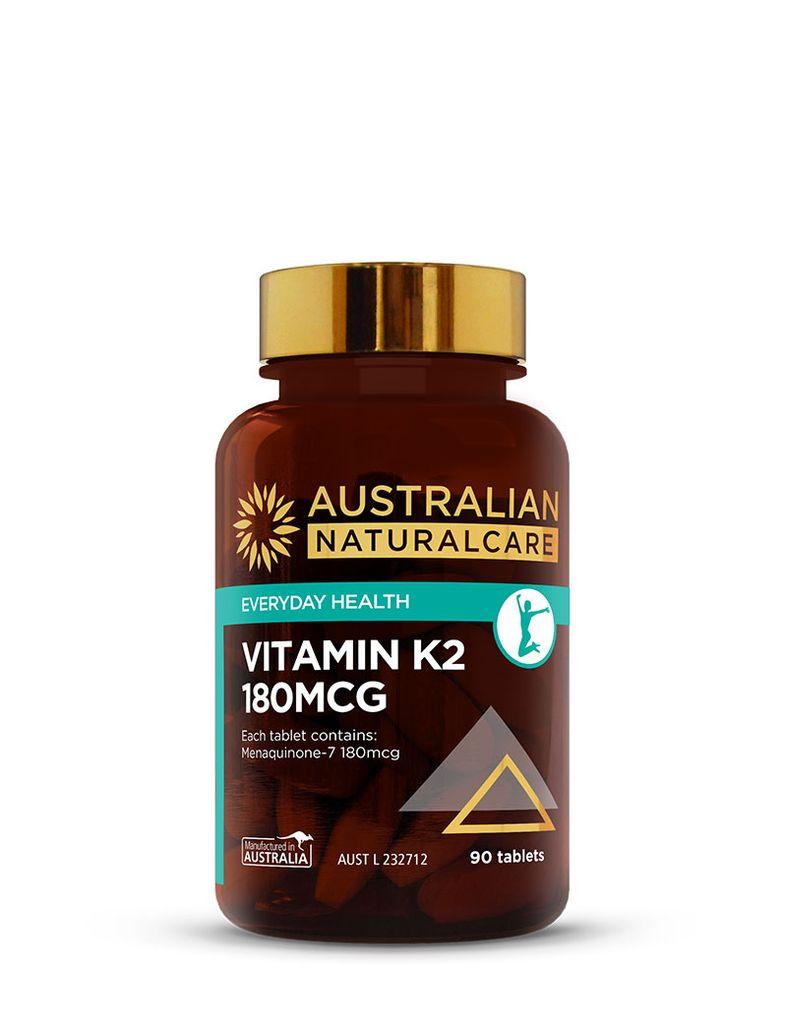 Vitamin K2 180mcg 90 Tabs