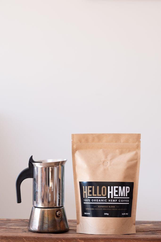 Hemp Coffee - Espresso Blend