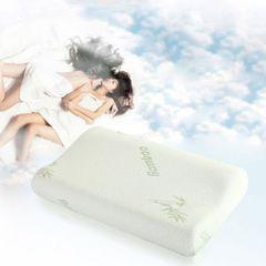 Deluxe Bamboo Memory Foam Pillow -Contour