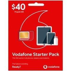 Vodaphone Prepaid Starter Pack