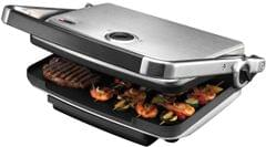 SUNBEAM Cafe Contact Electric Grill & Sandwich Press - Stainless Steel