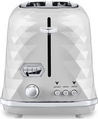 DELONGHI Brillante 2 Slice Toaster - White