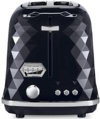 DELONGHI Brillante 2 Slice Toaster - Black