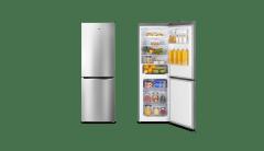 HISENSE 320L Bottom Mount fridge,stainless steel