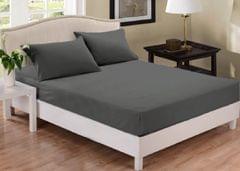 Park Avenue 1000 Thread Count Cotton Blend Combo Set Double Bed - Charcoal