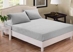 Park Avenue 1000 Thread Count Cotton Blend Combo Set Queen Bed - Silver