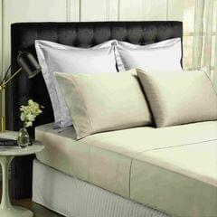 Park Avenue 500TC Soft Natural Bamboo Cotton Sheet Set Breathable Bedding - Queen - Dove