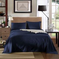Kensington 1200TC 100% Egyptian Cotton Sheet Set Stripe Luxury MK/K/MQ/Q/D/S - Single - Navy