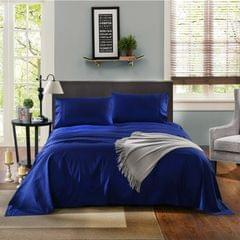 Kensington Luxury 1200TC 100% Cotton 3 Piece Sheet Set in Stripe Single - Indigo