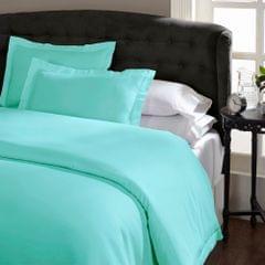 Royal Comfort Queen 1500TC Markle Collection Cotton Blend Quilt Cover Set - Mist