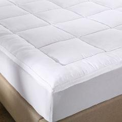 Royal Comfort 1000GSM Memory Mattress Topper Cover Protector Underlay - Double