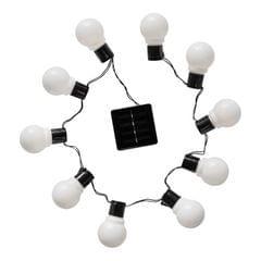 10 LED Indoor/Outdoor Solar Decorative Festoon String Lights Party Xmas Wedding