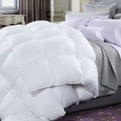 50% Duck Feather & 50% Duck Down Quilt 500GSM + Duck Pillows Twin Pack Combo - Double
