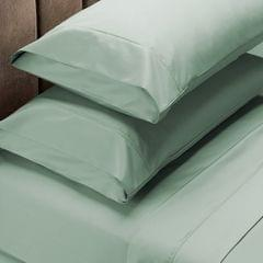 Royal Comfort 1000 Thread Count Sheet Set Cotton Blend Ultra Soft Touch Bedding - King - Green Mist