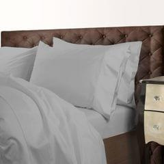 Royal Comfort 1000 Thread Count Cotton Blend Quilt Cover Set Premium Hotel Grade - Queen - Silver