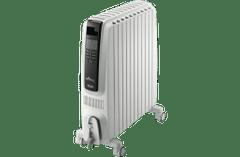 DeLonghi 2400W Dragon 4 Oil Column Heater w/Timer