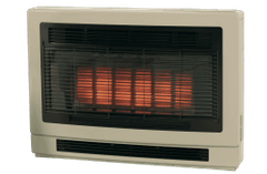 Rinnai Ultima II Inbuilt NG Beige Heater Flued