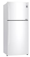 LG 442L Top Mount Refrigerator - White RHH
