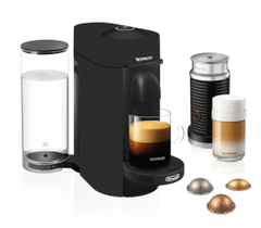 Nespresso VertuoPlus with Milk Frother - Matte Black