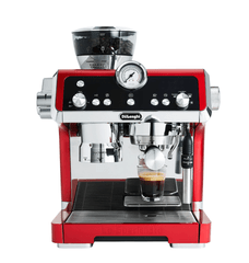 DeLonghi La Specialista Manual Coffee Machine Red