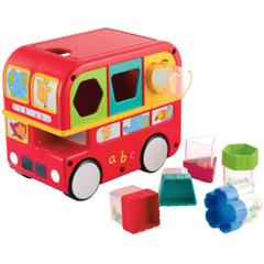 Giggles Shape Sorting Bus