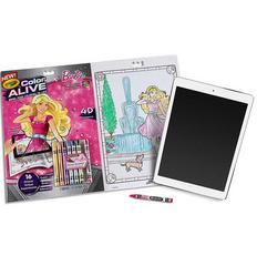 Crayola Barbie Colour Alive Book
