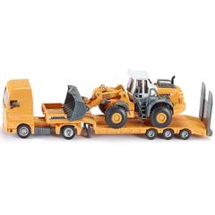 Siku Low Loader With Four Wheel Loader, Die Cast, Model N0. 1839