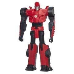 "Transformers Robots In Disguise 12"" Titan Heroes, Sideswipe, Multi Color"