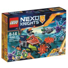 Lego Nexo Knights, Aaron's Stone Destroyer, No. 70358