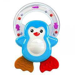 Giggles Penguin Pal Teether Rattle
