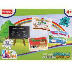 Funskool Play&Learn Animal & Their Groups