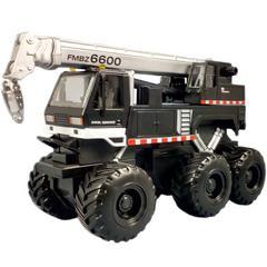 Maisto Quarry Monster Series, Crane Truck, Motorized 6-Wheeler, Multi-color