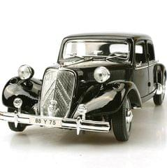 Maisto 1952 Citroen 15CV 6 CYL, Black, 1:18 Scale, Die Cast Metal, Collectable Model