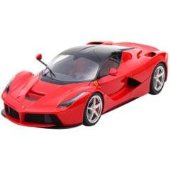 Burago LA Ferrari Red Color, 1:24 Scale Die Cast Metal Collectable Model Car
