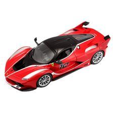 Burago Ferrari FXX K, Red, 1:24 Scale, Die Cast Metal, Collectable Model