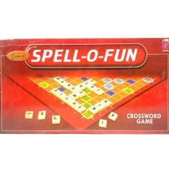 CJ Junior Spell-O-Fun, Crossword Game