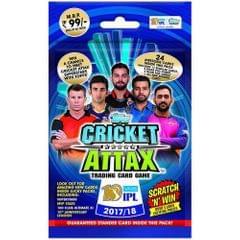 Topps Cricket Attax IPL CA 2017 Multi Pack, Multi Color