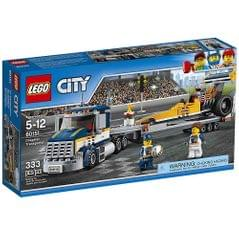 Lego City Dragster Transporter, No. 60151