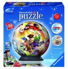 Ravensburger 3D Puzzle, Disney Pixar Puzzle ball, 108 Pieces