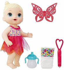 BabyAlive Face Paint Fairy Doll Set, Blonde