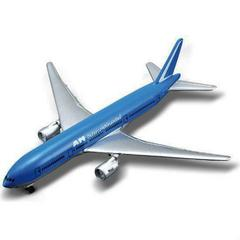 Maisto Tailwinds, Boeing 777-200 AM Intercontinental Plane, Die Cast Replica, Blue and Silver