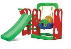 Playgo Slide and Swing Combo, For Kids, Multi Color